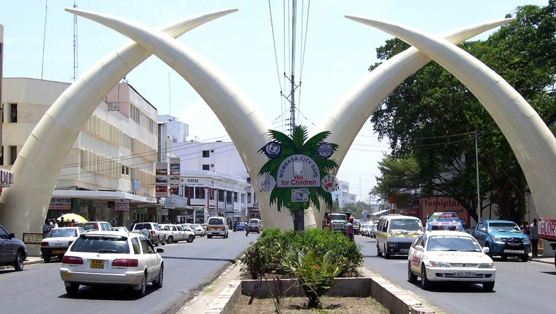 Kenya. Mombasa Town