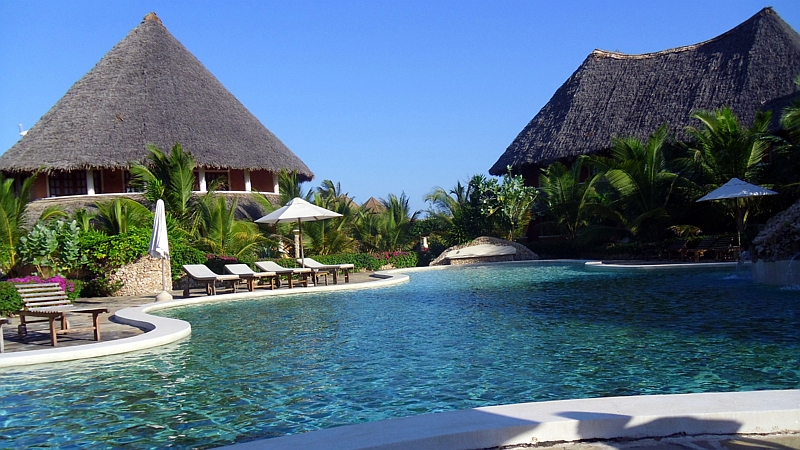 Kenya. Tembo Court Ocean Beach Resort Malindi