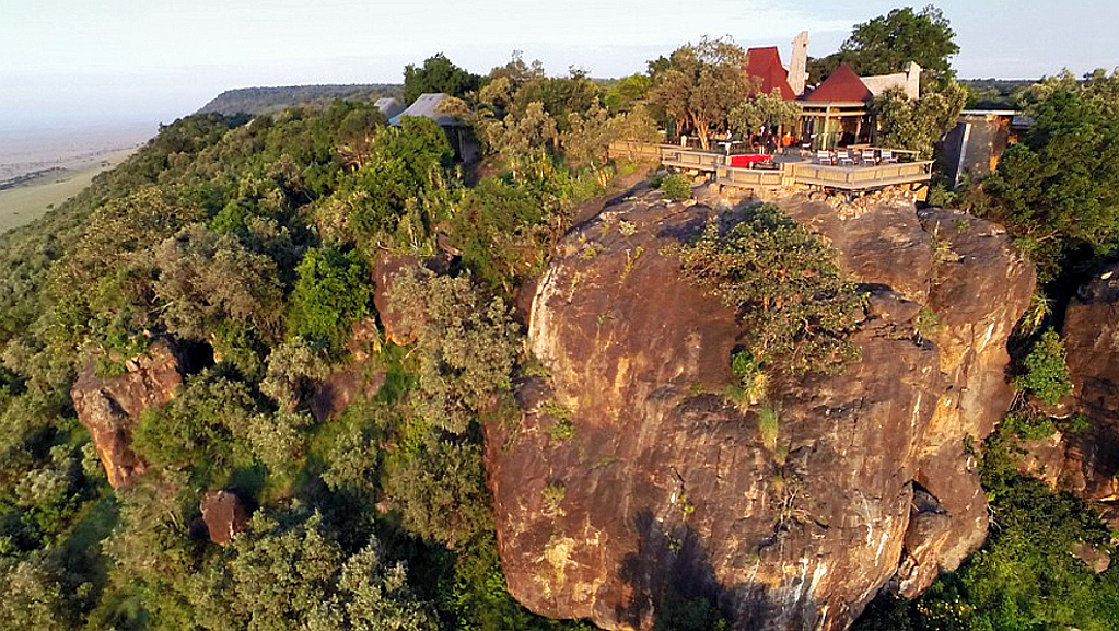 kenya-Angama Mara. Sospeso a mezz'aria sul Masai Mara