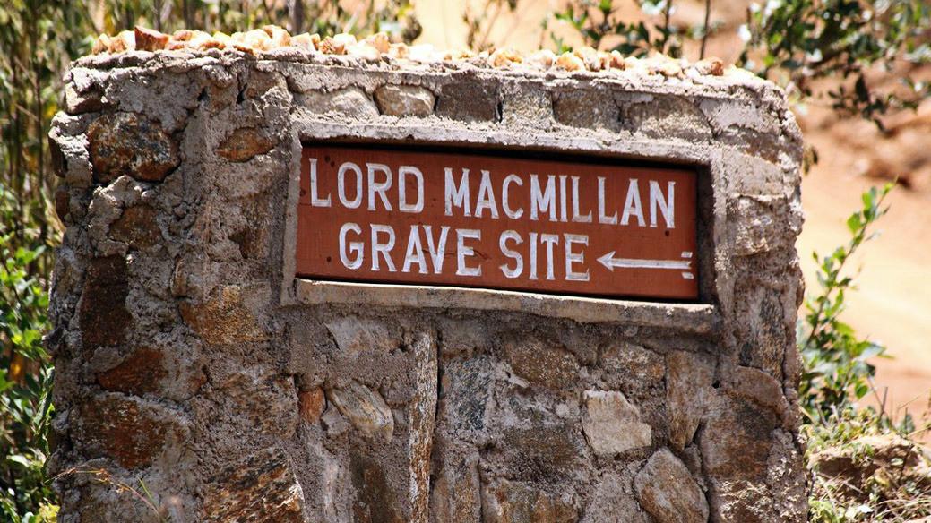 Indicazione tomba McMillan
