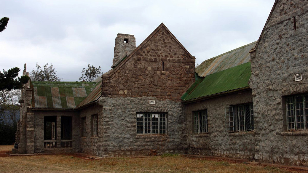 Castello MacMillan-Vista laterale