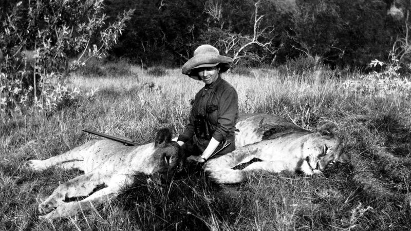 Kenya. Karen Blixen in Kenya (1914)