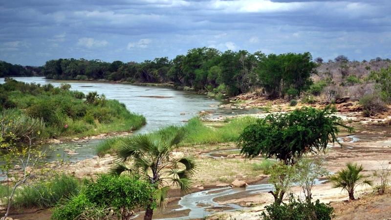 Kenya. Galana River