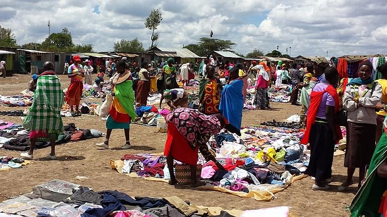 Kenya. Segera Ngare Nyiro Market