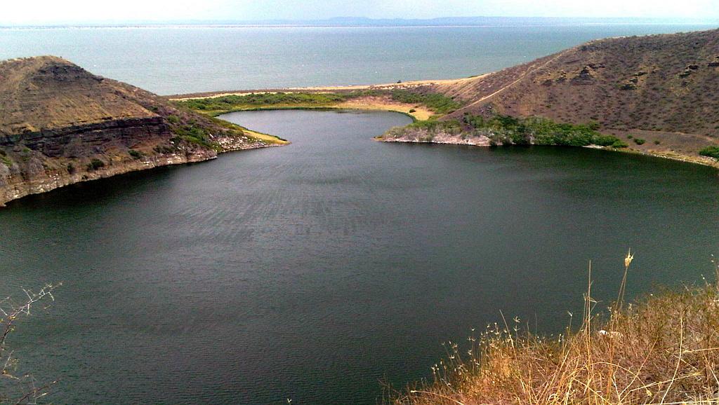 Lago Tilapia, Isola Centrale Lago Turkana Kenya