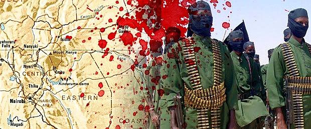 Jihadisti in Kenya.