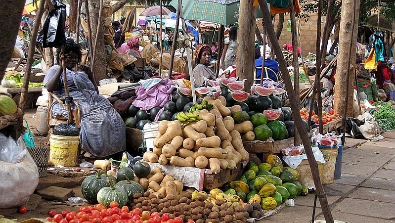 Kenya. Mercato a Machakos