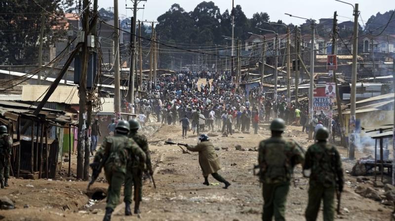Kenya. Anche le proteste durante le elezioni presidenziali del 2017 nella repubblica delle banane sono degenerate in scontri sanguinosi