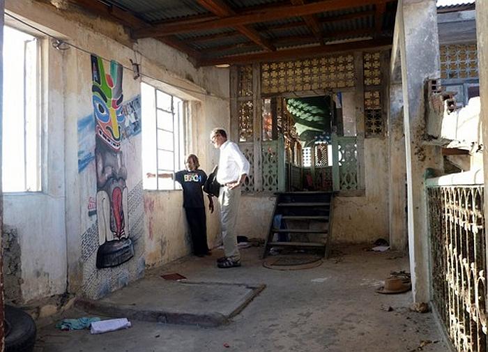 Interno della casa di Tippu Tip-Stone Town Zanzibar