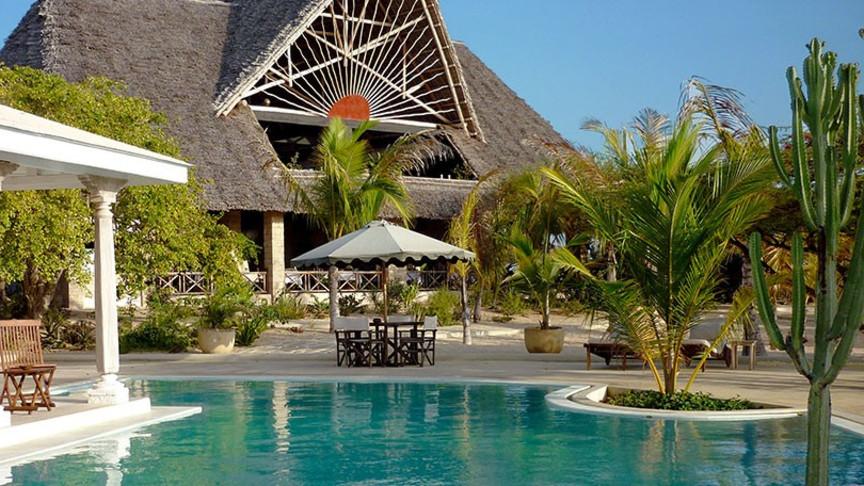 Manda Island. Majlis Hotel