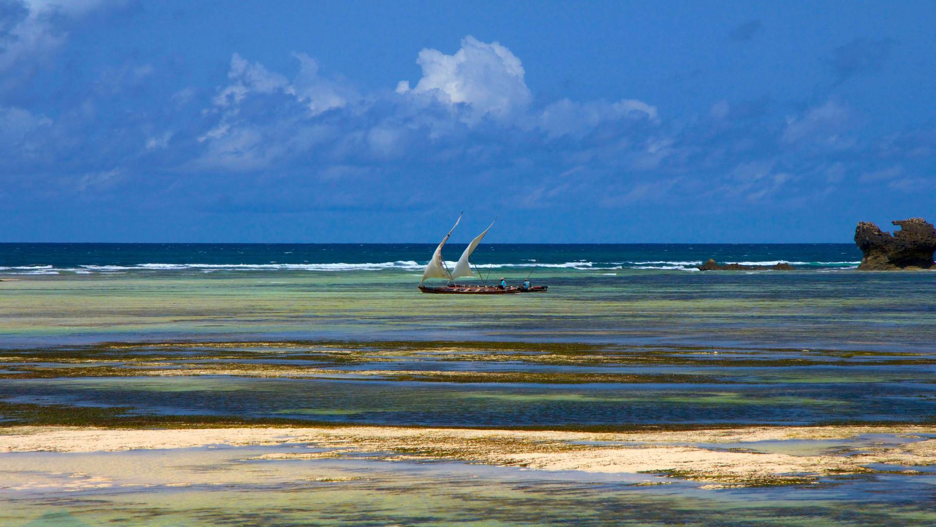 Kenya Vacanze - Panoramica barriera corallina
