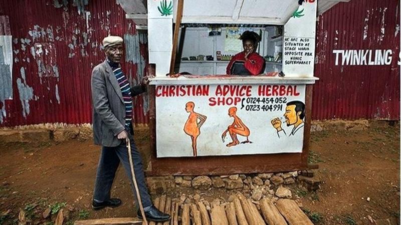 Kenya. Herbal Shop in Nairobi