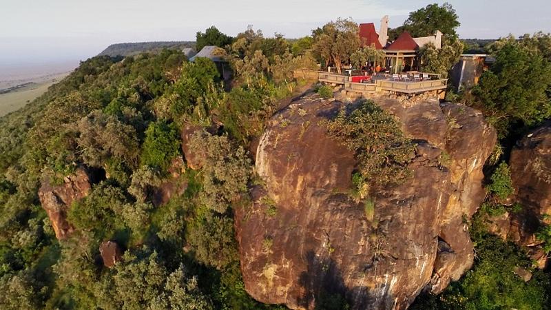 Kenya. Angama Mara. Sospeso a mezz'aria sul Masai Mara