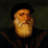 Ritratto di Vasco da Gama datato 1520.