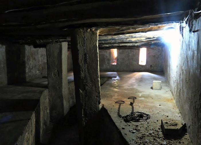 Luogo di detenzione degli schiavi a Zanzibar-Ostello di Santa Monica