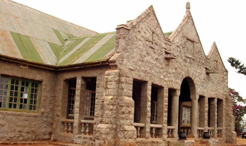 Castello MacMillan-Vista posteriore
