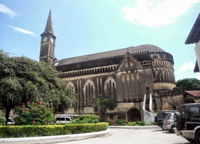 Cattedrale Anglicana a Stone Town-Zanzibar