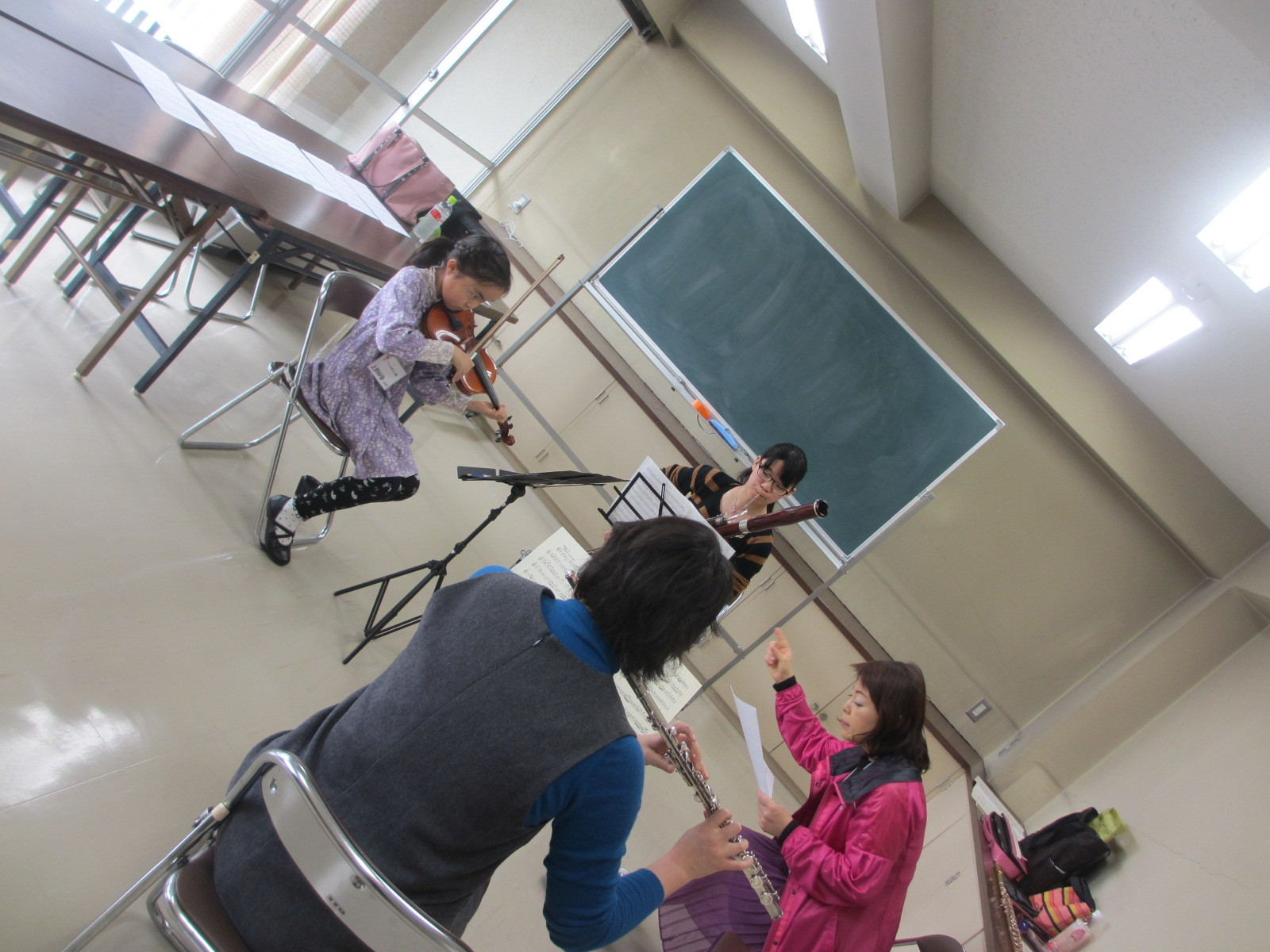 広響、岡本弥生先生のあったかくも厳しい指導にて、