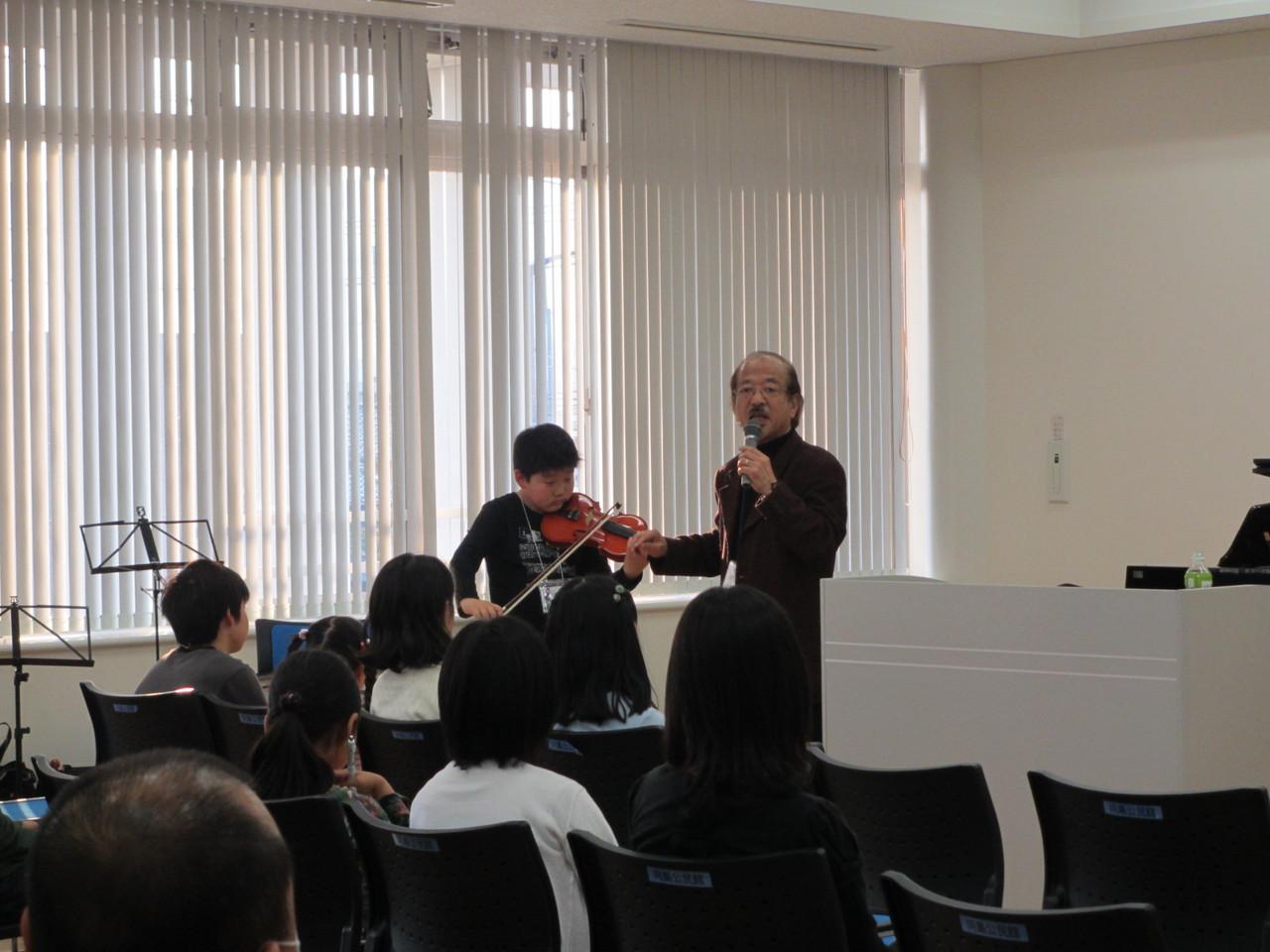 ヴァイオリン講座