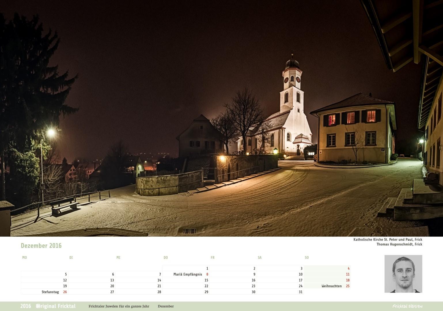 Original Fricktal, Katholische Kirche St. Peter und Paul, Frick, Thomas Hugenschmidt