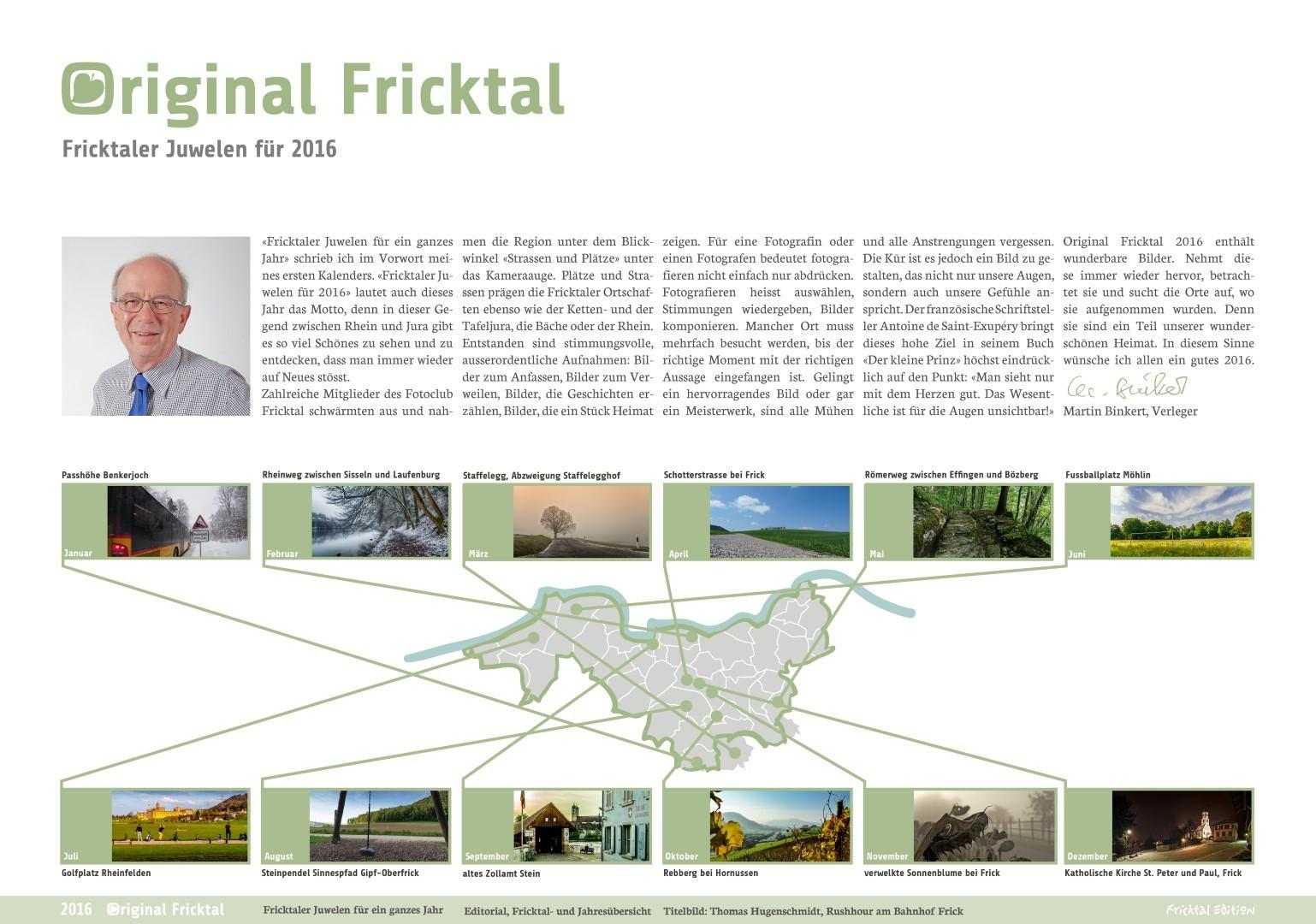 Original Fricktal Monatsblatt