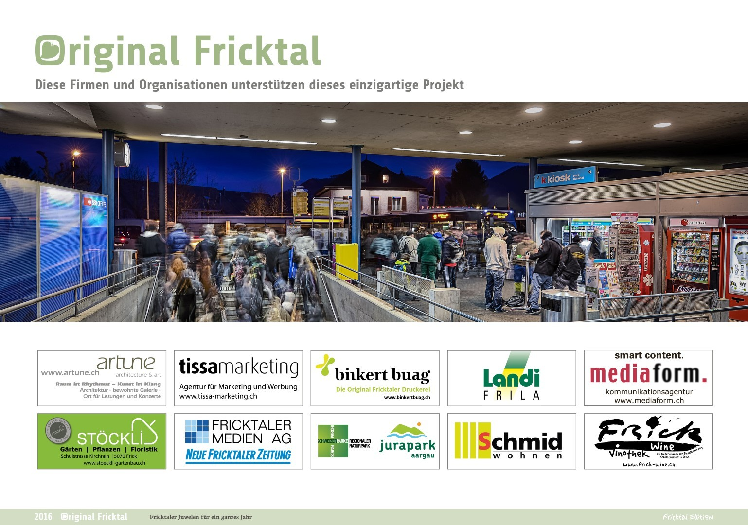 Original Fricktal, Sponsoren