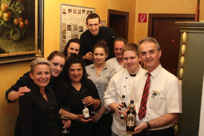 Alles perfekt gemacht hat die Crew um Viktor Dusevic, die sich große Mühe für einen unvergesslichen Abend machten. - © Bandi Koeck