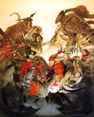 この英文が読めますか? Final Fantasy 12 召喚獣の解説