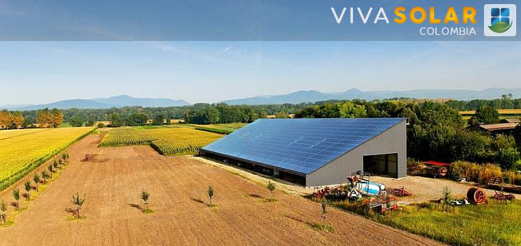 Soluciones solares en el campo industrial