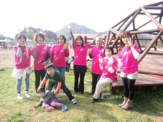 2011年鳥取 空山アースデイイベント 終了後の集合写真