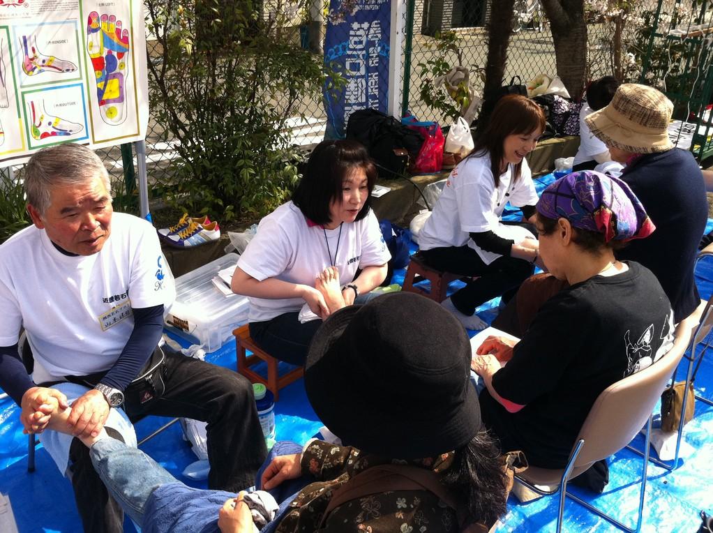 2011年新須磨病院お花見会