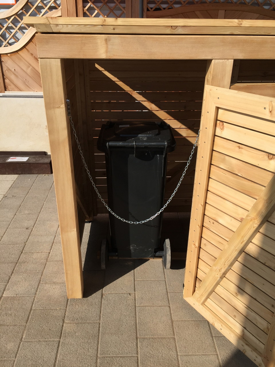 für alle Mülltonnengrößen bis 240 Liter