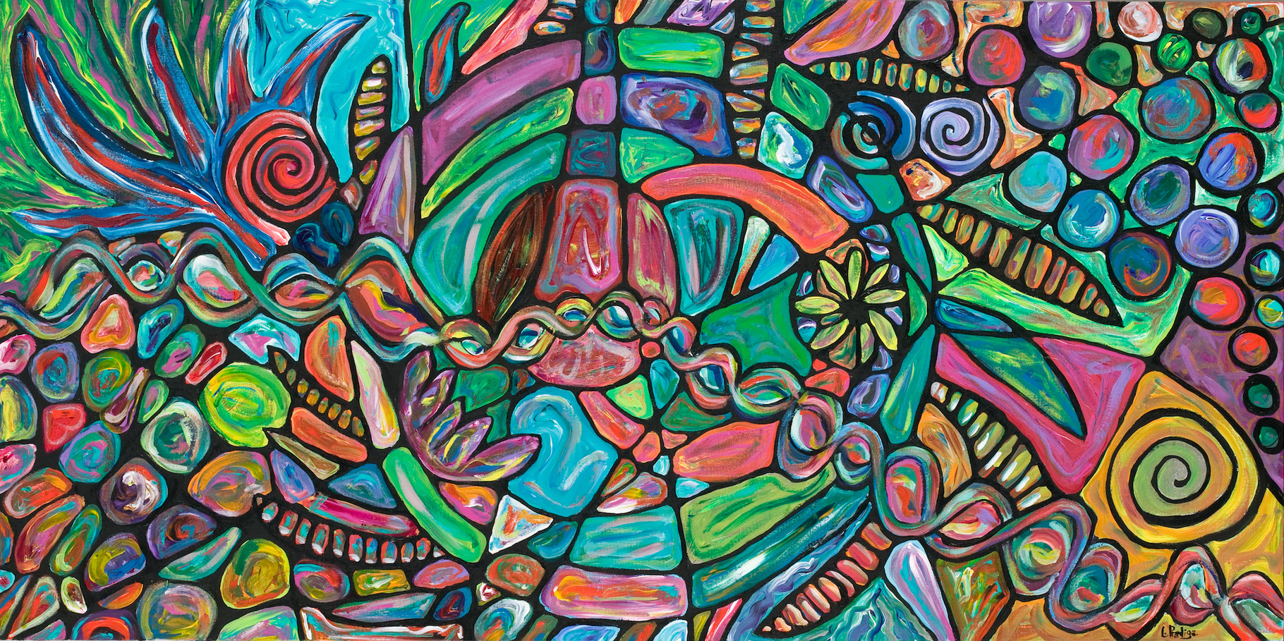 "How we are together - 30"" x 48"" SOLD"
