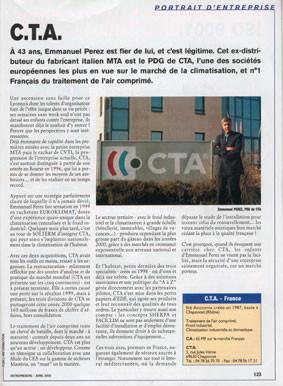 CTA, publirédactionnel