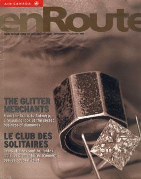En Route, magazine Air Canada, article de fond sur le Grand Prix F1 à Montréal
