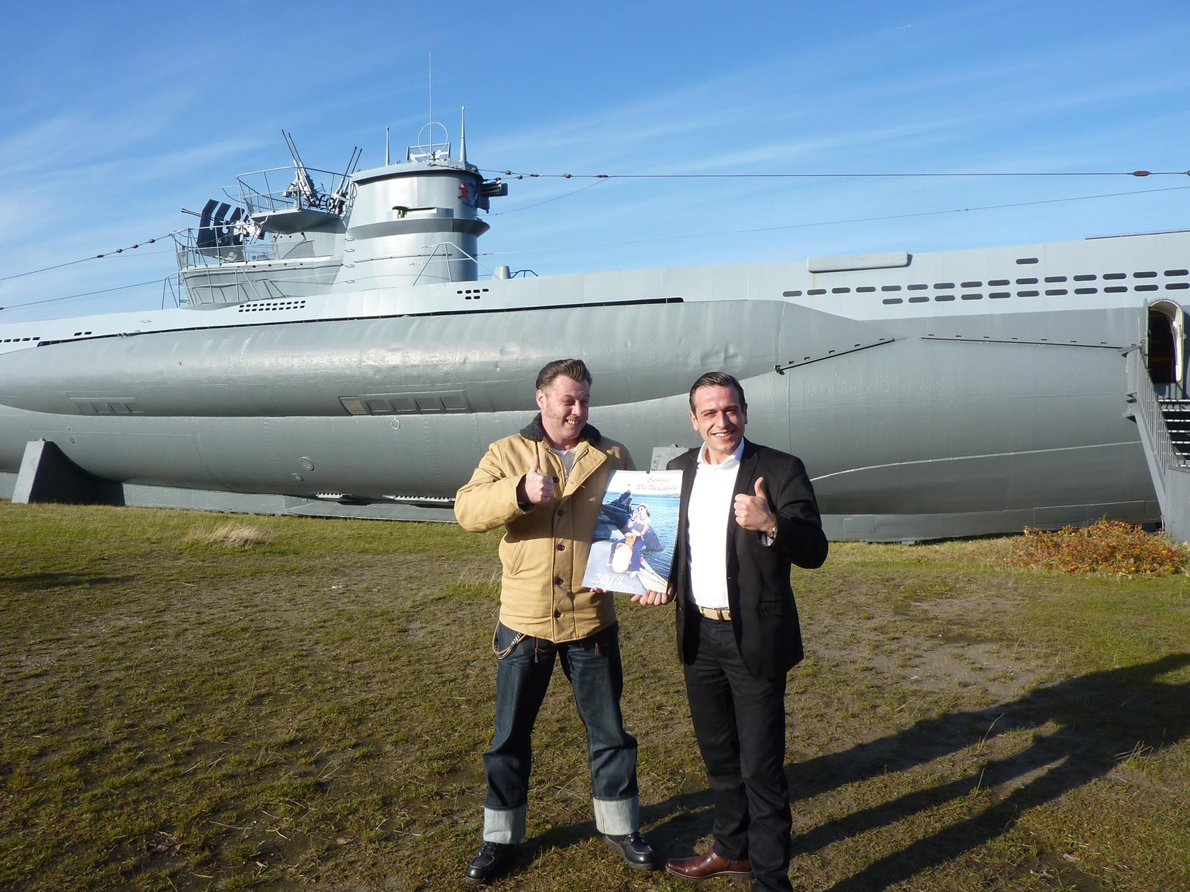 Calendar 2014 Release with German Navy Association