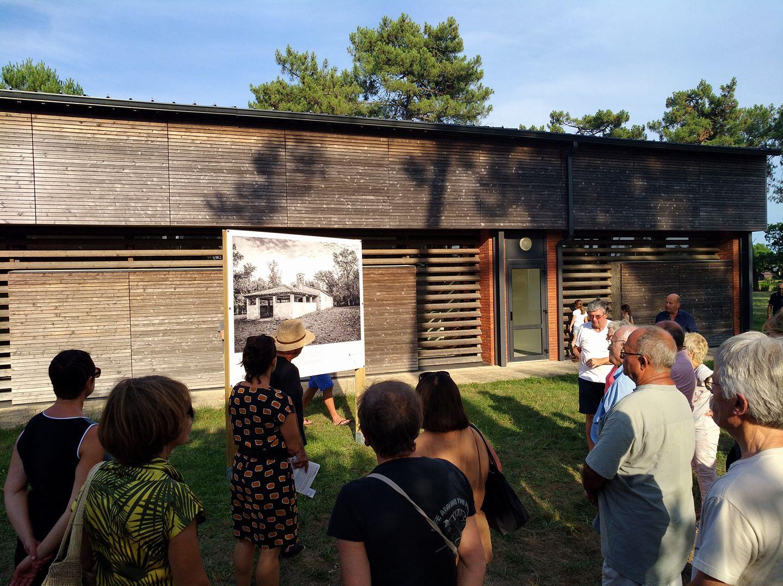 Conférence de plein air, Christian à Vendays-Montalivet