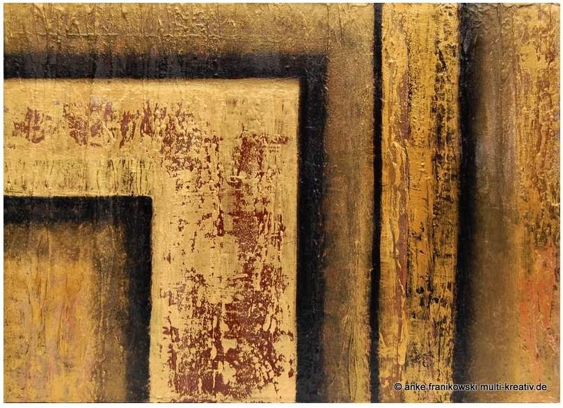 Struktur abstrakt, Acrylgemälde, Größe 50 x 70 x 3 cm mit dem Namen, Raum und Zeit. Jahr: 2013, Preis: 480,-
