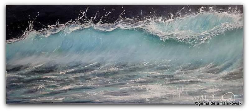 Wellenbild Tanz der Wasserteilchen