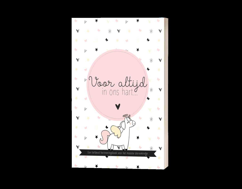 Herinneringsboek sterrenkind (meisje)