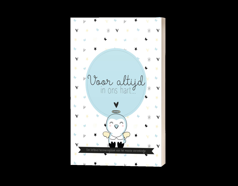 Herinneringsboek sterrenkind (jongen)