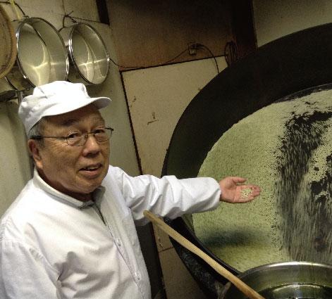 新潟で江戸時代から続く伝統 ゆかり工場