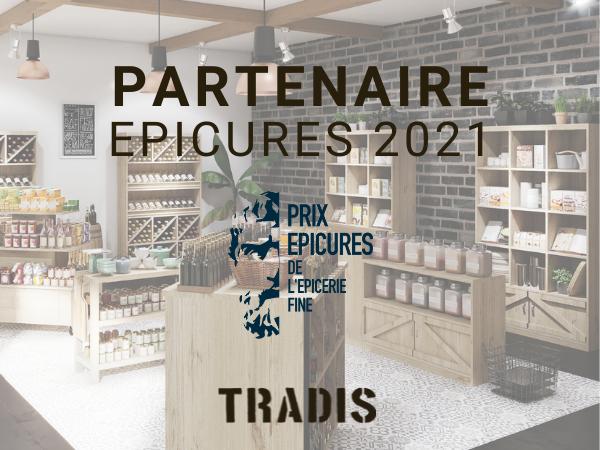 TRADIS, Partenaire du Prix des Epicures 2021