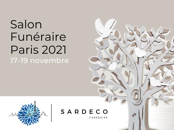 Sardeco présente sa collection de plaques funéraires inox à Funéraire Paris 2021