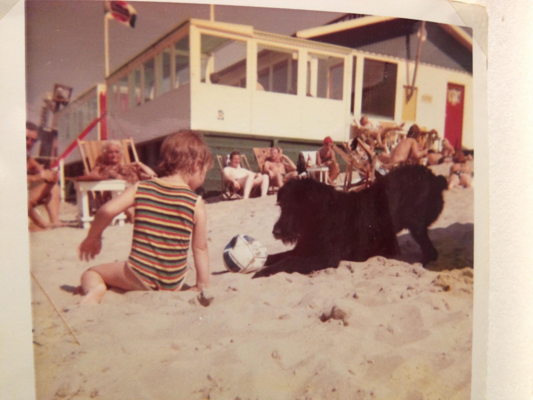 Ob im Urlaub oder zu Hause: Jeder Hund war der beste Freund! Hier: Zorro.