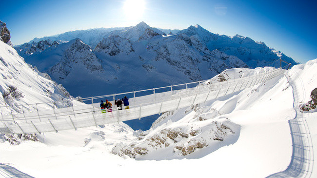titlis suspension bridge - europe's highest! (picture: myswitzerland.com)