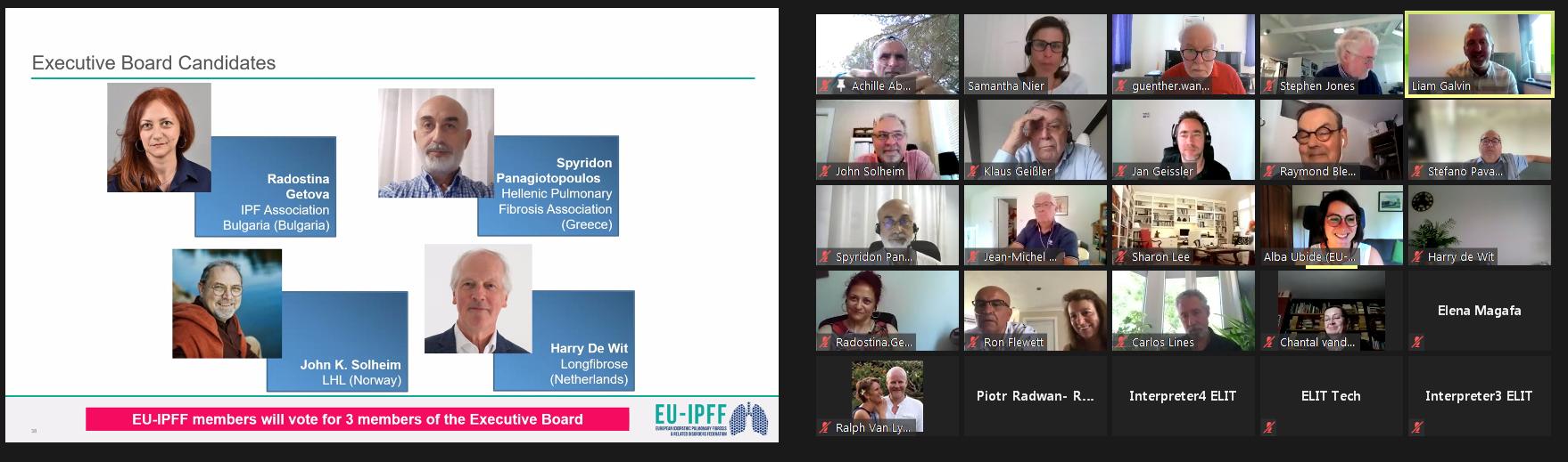 EU-IPFF Generalversammlung 2021