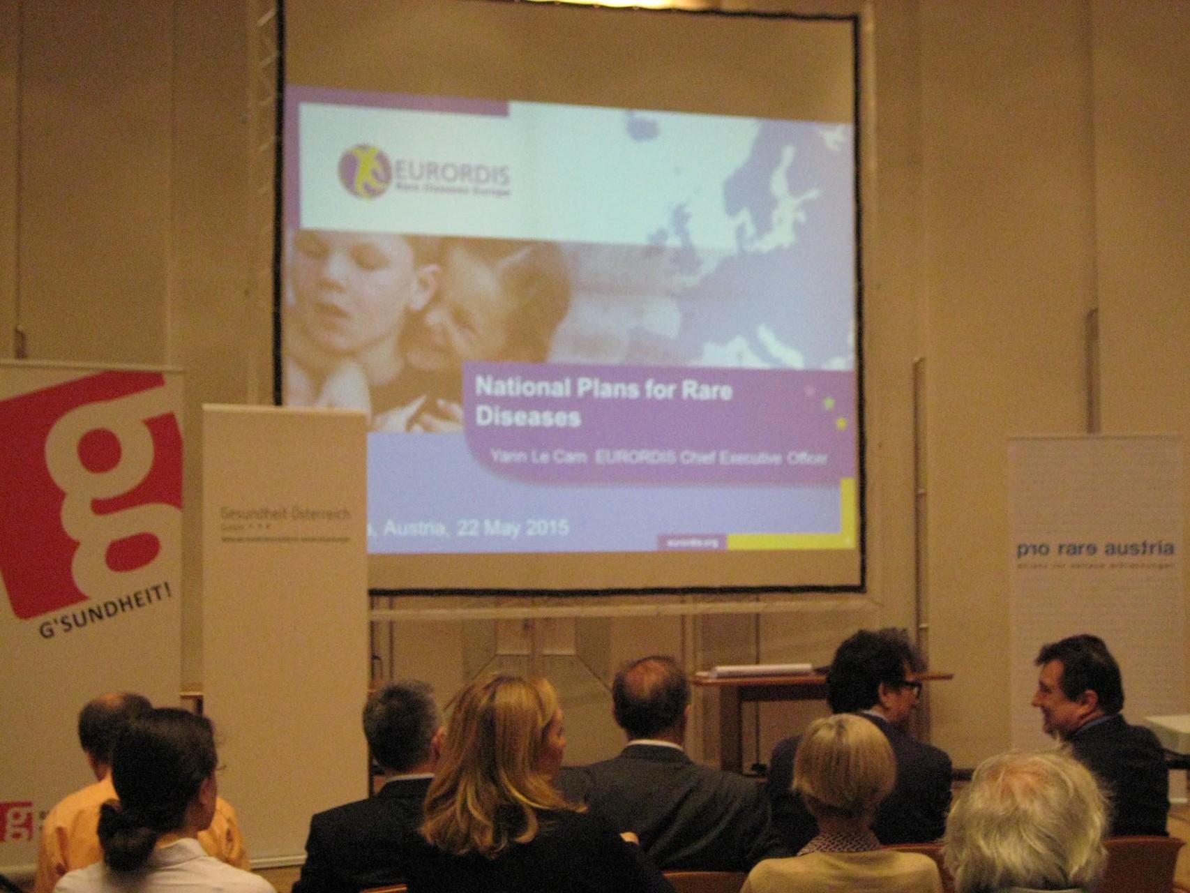 Start der Europlankonferenz im BMG