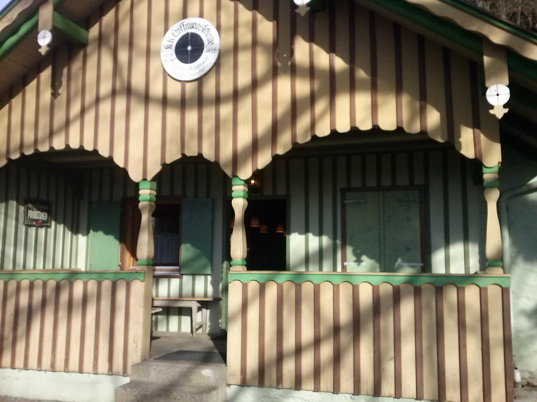 Unser Schützenheim von außen