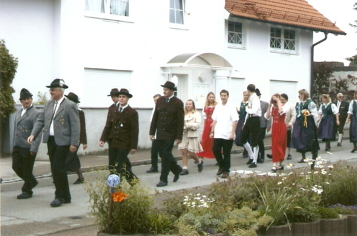275. Jahre Schützenverein Probstried